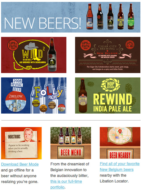 new belgium newsletter