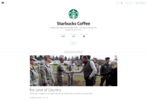 starbucks on medium