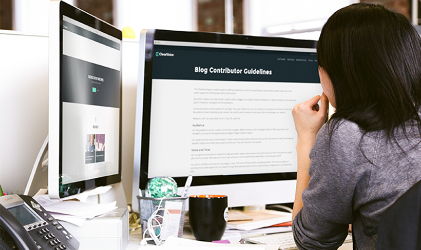 Now, how do you create great contributor guidelines for your blog?