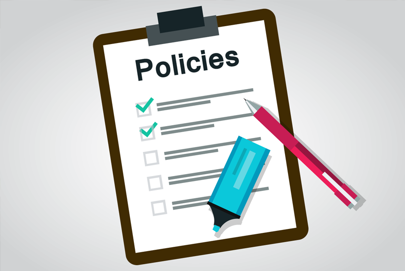 Spell out your policies in your blog guidelines