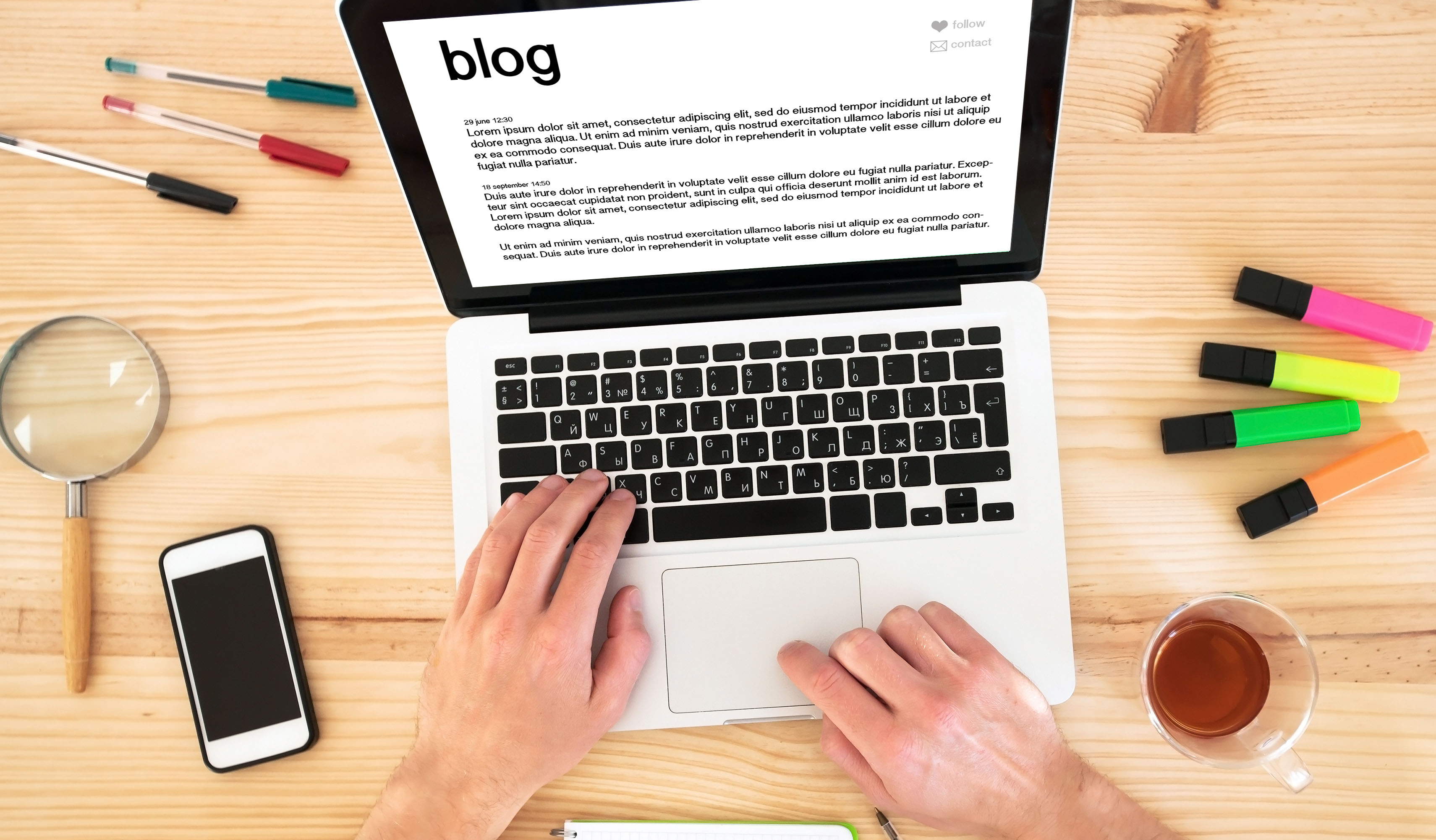 Guidelines for your blog should include