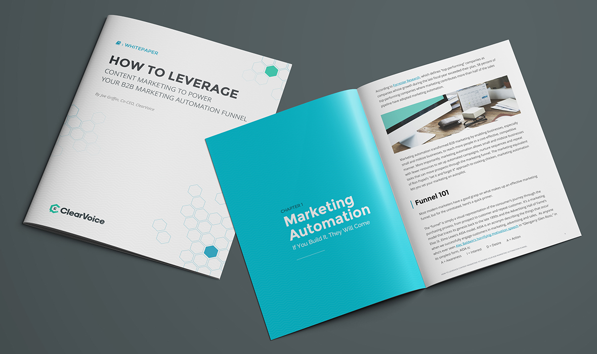Whitepaper: How to Leverage Content Marketing to Power Your B2B Marketing Automation Funnel