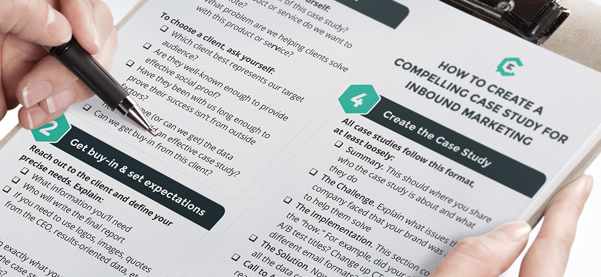 Download a Printable Checklist to Create a Compelling Case Study