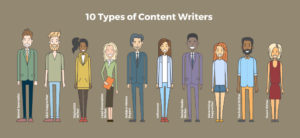 10 types of content writers