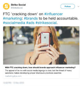 #24 Top Content Marketing News: FTC Gets Serious About Regulating Influencer Marketing