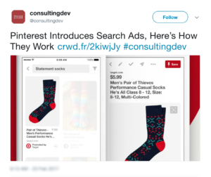 #25 Top Content Marketing News: Pinterest Introduces Search Ads