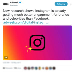 Top Content Marketing News #8: Instagram Beats Facebook on Engagement