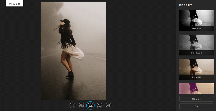 Using Pixlr to edit images if you can't afford Photoshop