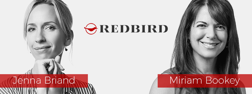 Interview with Jenna Briand and Miriam Bookey, the content chiefs at the Redbird Group