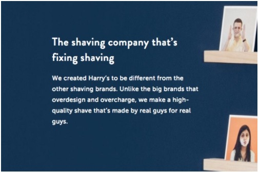Harry's using story structure in their marketing