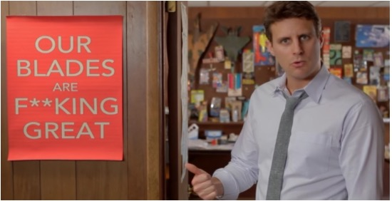 How Dollar Shave Club uses story structure in their content marketing