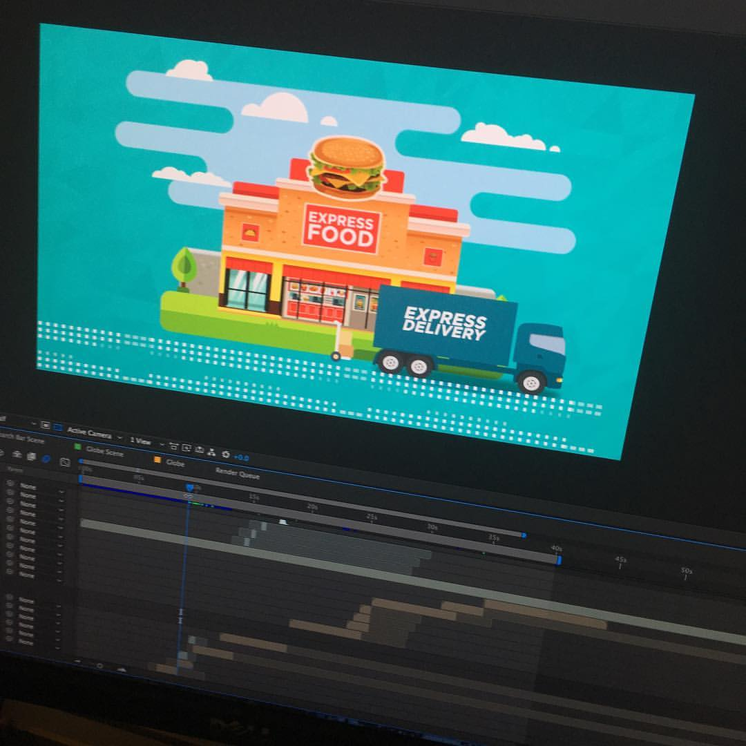 Using motion graphics to help explain technical processes or services