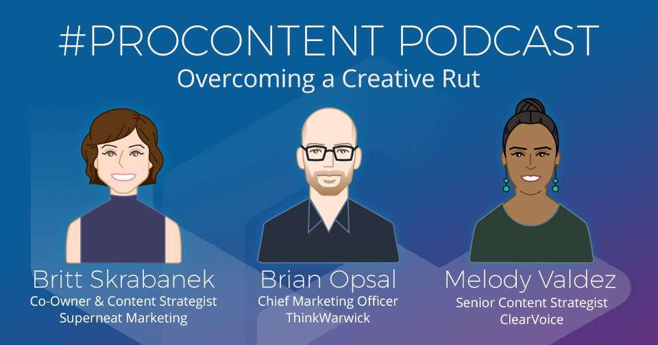 Overcoming Creative Rut