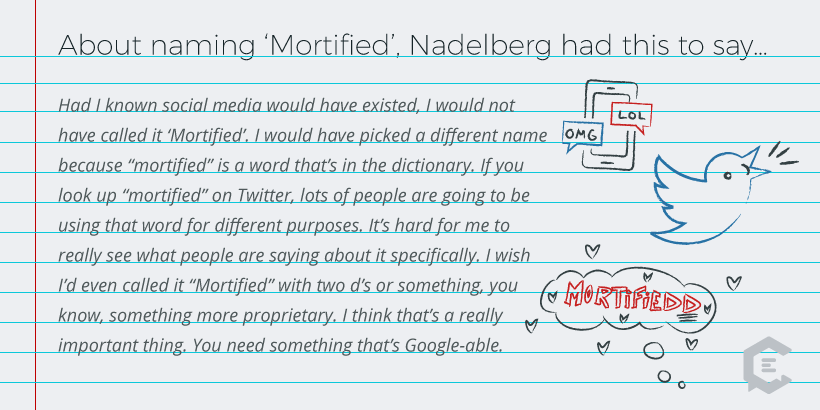 Mortified: Diaries to Global Movement