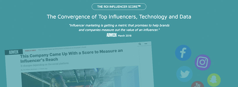 Accountability with ROI Influencer Scores