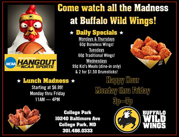 Buffalo Wild Wings March Madness Campaign