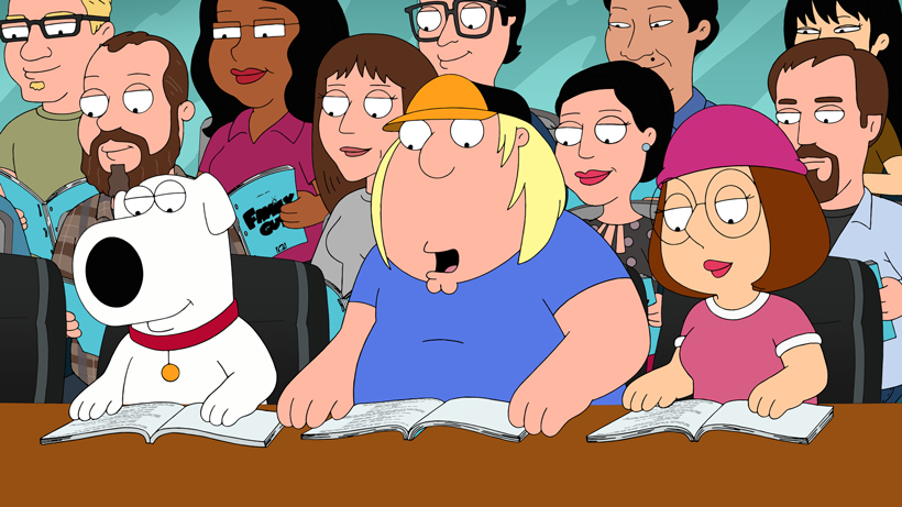 Table-Read of a Script at 'Family Guy'