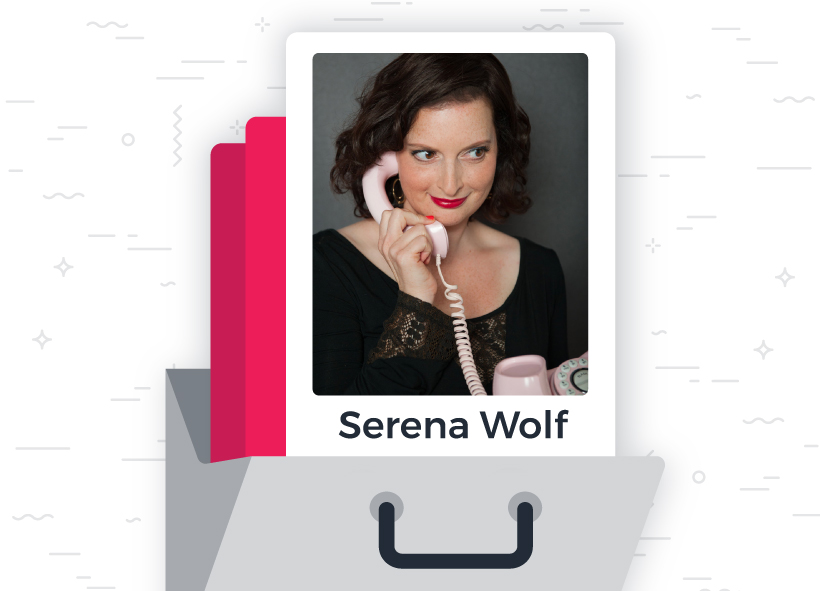 Serena Wolf, founder of Wolf Creative Company