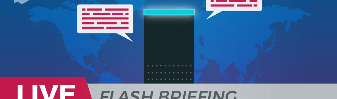 Build Alexa Flash Briefing Skill
