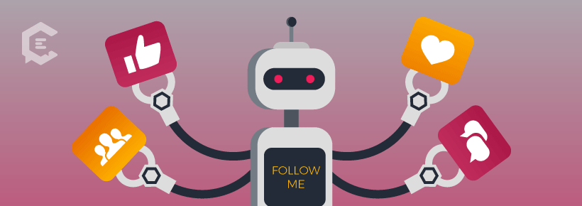 Don't do the bot follow when networking on social media.