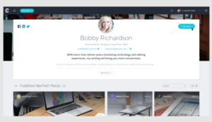 CV Portfolio Instant Lead Generation for Freelance Writers and Creatives