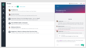Manages leads for projects from your ClearVoice talent dashboard.