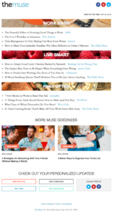 newsletter series examples of brands that nail with emailss
