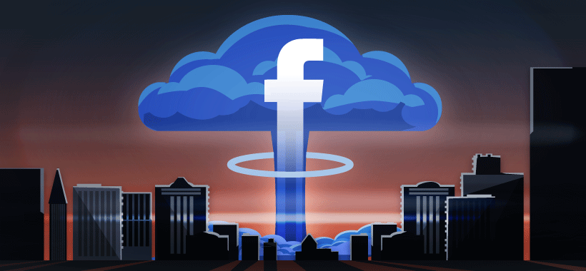 #1 scariest news item in content marketing: Facebook's freaky newsfeed apocalypse.