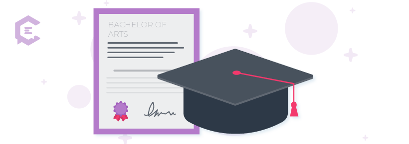 You better believe that putting your education and college degrees on your portfolio matters to potential clients, as it gives them peace of mind