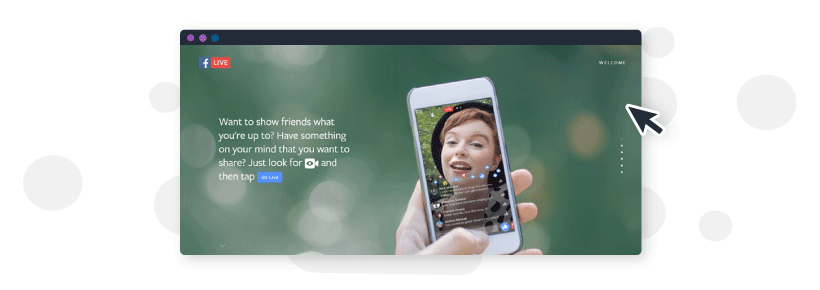 Using Facebook Live to live stream video in your content marketing