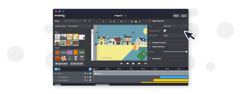 Using Moovly to create animated videos and presentations in your content marketing