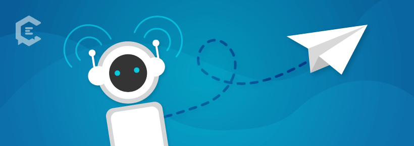 Using a chatbot in your marketing to launch your next product.