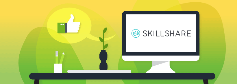 Keep your freelance skills competitive with Skillshare subscription to online courses.