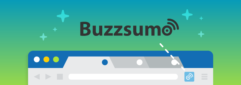 Buzzsumo chrome extention