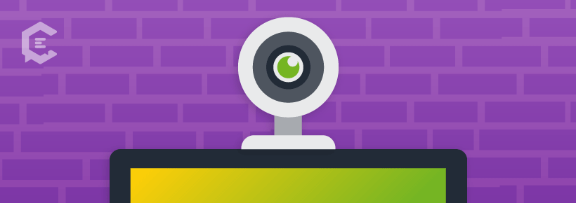 Prepping a video conference: Speak for the camera, not the phone.