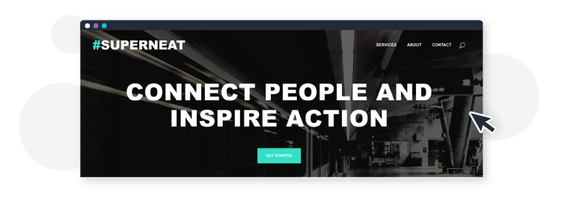 Positioning statement for Superneat Marketing: Connect People and Inspire Action