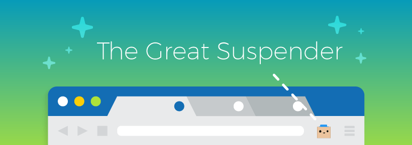 The great suspender google chrome extension