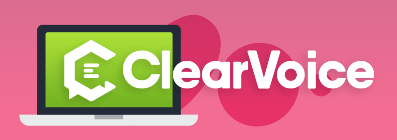 Using ClearVoice to convert website traffic