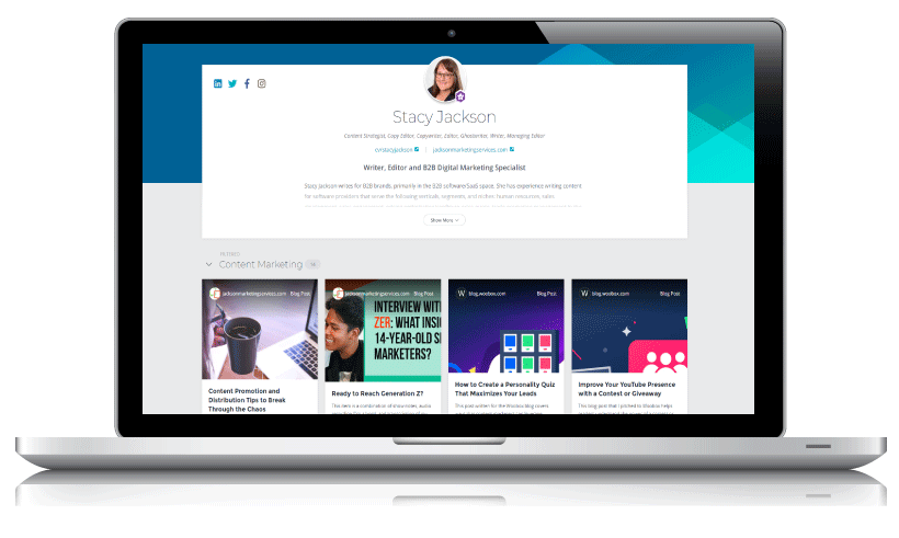 Find high-quality content creators via ClearVoice