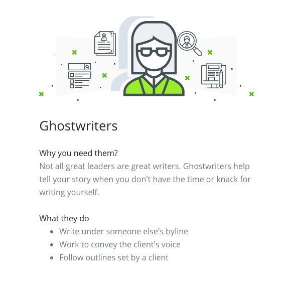 Why you need to hire ghostwriters for your content marketing