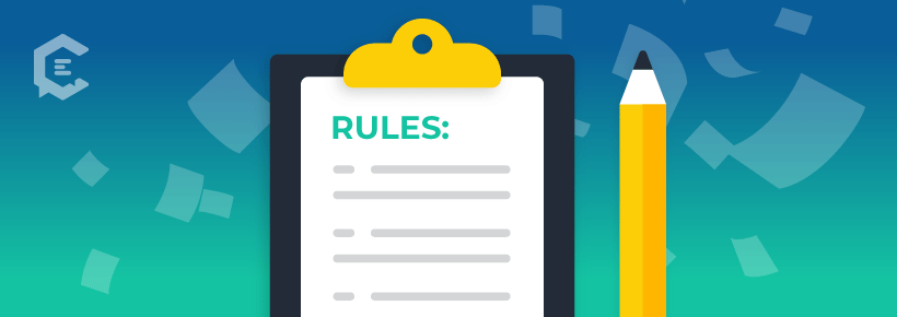"potential content marketing legal roadblock: ""official rules"""