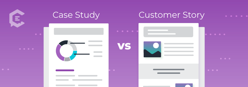 What's a customer story? How is it different from a case study?