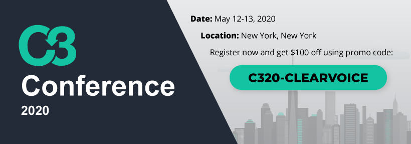 2020 C3 Conference in New York
