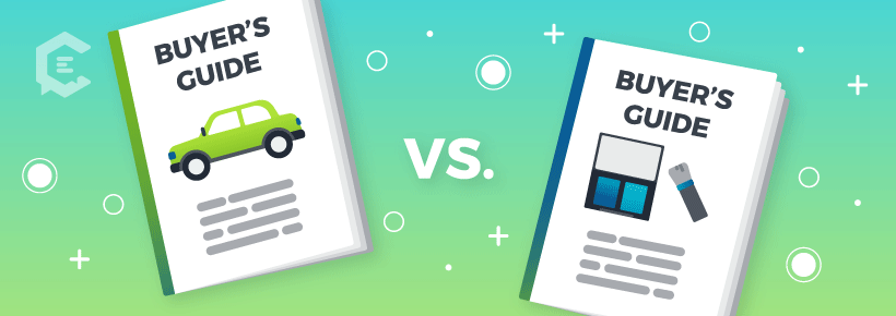 Compare and contrast makes for great research with a buyer's guide.