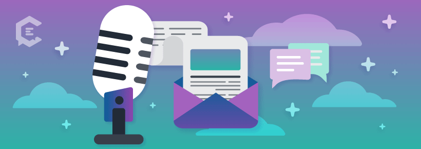 How to develop your podcast audience: create email campaigns.