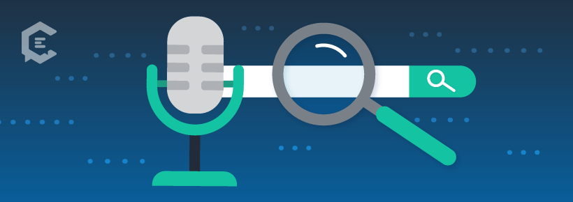 Voice search can improve the customer experience through content.