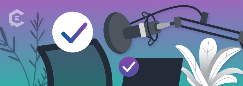 Podcast recording tips: Test your gear pre-recording.