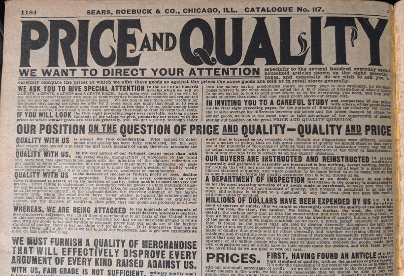Direct mail lessons from the Sears Catalog: Provide value.