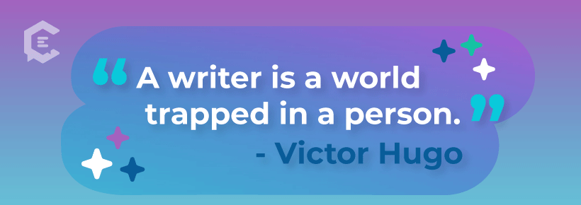 Motivational quotes for writers.