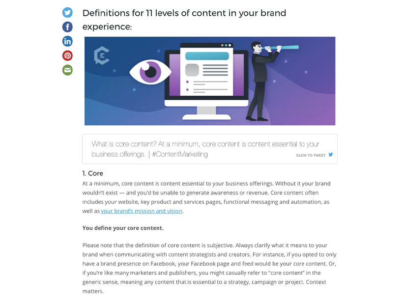 How to Define the 11 Content Levels of Your Brand Experience